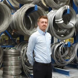 Scott Smith Despatch Executive Blur back web - Alloy Wire International