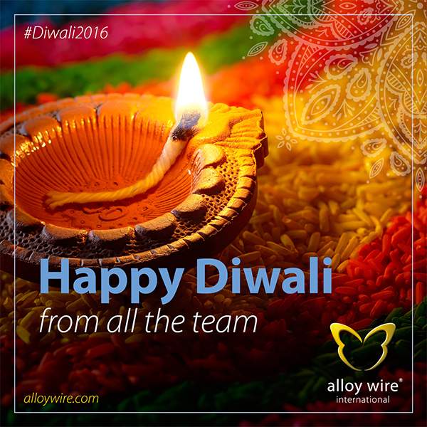 AWI Tweets CalenderCelebrations Diwali2016 - Alloy Wire International