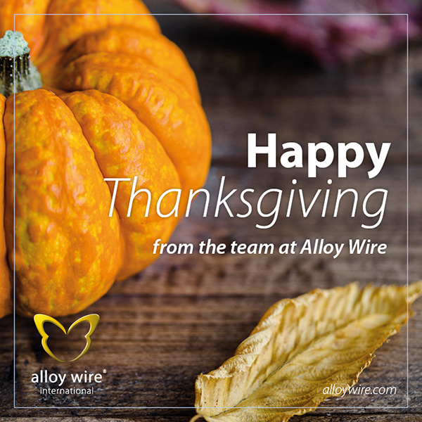 AWI Tweets CalenderCelebrations US Thanksgiving2016 1 - Alloy Wire International
