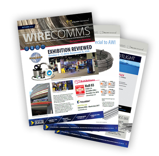 awi autumn newsletter thumb - Alloy Wire International