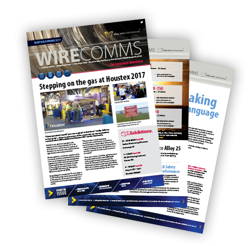 awi spring newsletter thumb - Alloy Wire International